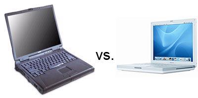 Dell C840 vs iBook G4